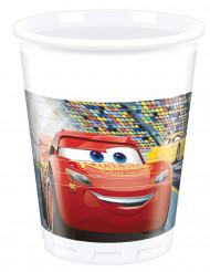 8 Vasos de plástico 200 ml Cars 3™