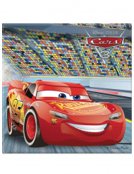 20 Servilletas de papel Flash McQueen Cars 3™ 33 x 33 cm