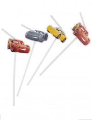 6 Pajitas viñetas Cars 3™