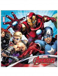 20 servilletas de papel 33x33 Avengers Mighty