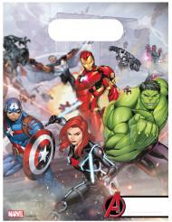 6 Bolsas de fiesta Avengers Mighty™