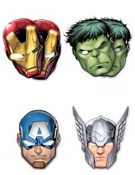 6 Máscaras de cartón Avengers Mighty™