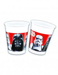 8 Vasos de plástico Star Wars Final Battle™