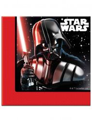 20 servilletas de papel 33x33 Star Wars Final Battle™