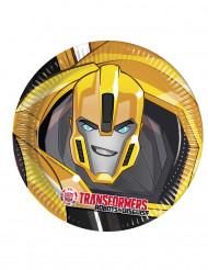 8 Platos de cartón 23 cm Transformers RID™