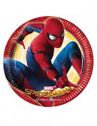 8 Platos 23 cm Spiderman Homecoming™