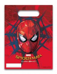 6 Bolsas regalo Spiderman Homecoming™