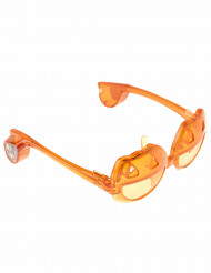 Lentes luminosos calabaza adulto Halloween