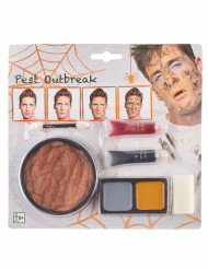 Kit maquillaje peste adulto Halloween