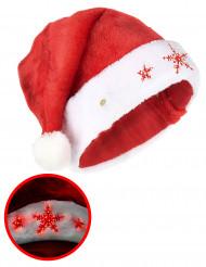 Gorro copo luminoso adulto Navidad