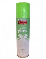 Bomba spray nieve fosforito Navidad 150 ml