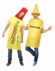 Disfraz de pareja mayonesa y mostaza