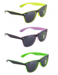 Gafas años 50 fosforescentes