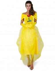 Disfraz de la princesa bella mujer