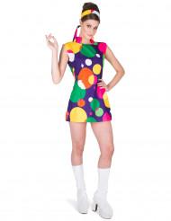 Disfraz disco pop mujer