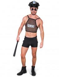 Disfraz de policia sexy hombre
