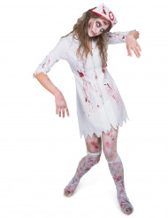 Disfraz enfermera zombie mujer