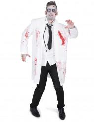 Disfraz doctor zombie hombre