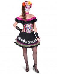 Disfraz Mariachi Día de los Muertos Mujer