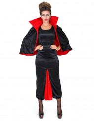 Disfraz de condesa Dracula terciopelo mujer