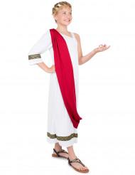 Disfraz de emperador romano niña