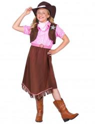 Disfraz vaquera para niña