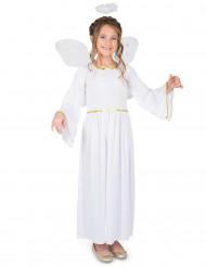 Disfraz ángel del cielo niña