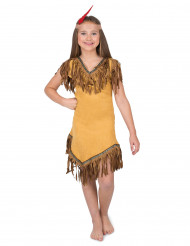 Disfraz india del nuevo mundo niña