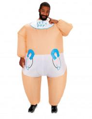 Disfraz inflable bebé adulto