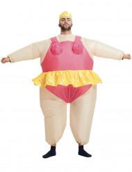Disfraz inflable bailarina adulto