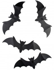 Murciélagos murales decorativos lote de 12