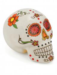 Decoración calavera colorida Día de los Muertos