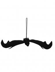 Murciélago negro decorativo para colgar 54 x 26 cm