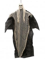 Disfraz de segador negro y blanco110 cm para colgar