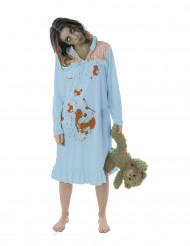 Disfraz zombie pijama mujer Halloween