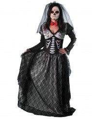 Disfraz condesa esqueleto mujer Día de los muertos