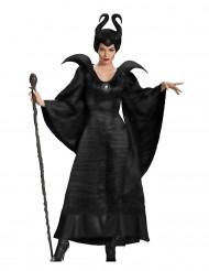Disfraz bruja maléfica negro mujer Halloween