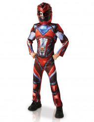 Disfraz lujo Power Rangers™ rojo niño - Pelicula