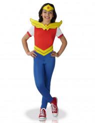 Disfraz de Wonder woman™ Superhéroe Girls™ Niña