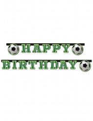 Guirlanda happy birthday football fans 2 m
