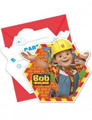 6 Tarjetas de invitación con sobres Bob y sus amigos™