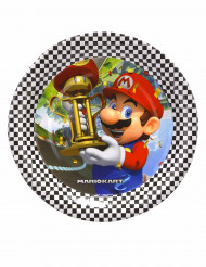 8 Platos pequeños cartón Super Mario™