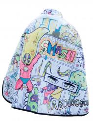 Capa lavable reversible telaraña personalizable niño