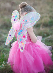 Alas de hada mariposa para personalizar Niña