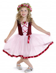 Disfraz medieval tutú niña