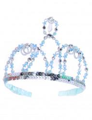 Diadema de princesa azul niña