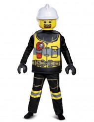 Disfraz lujo bombero LEGO® niño