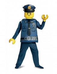 Disfraz lujo policía LEGO® niño