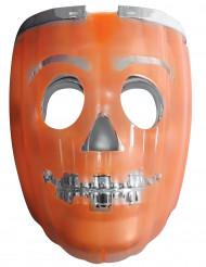 Máscara 2 en 1 calabaza luminosa linterna adulto Halloween