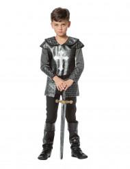 Disfraz caballero con armadura niño